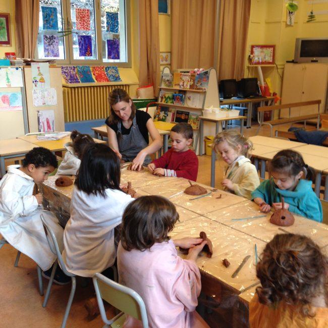 Sur le thème de l'habitation en école maternelle