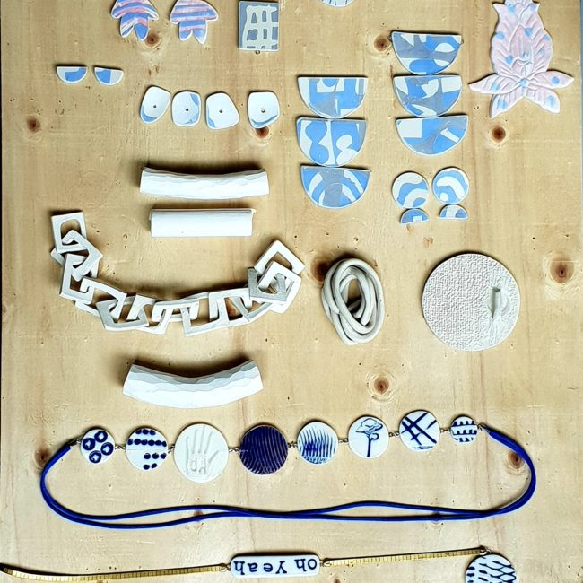 stage bijoux porcelaine